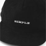 Strapback Simple Veludo Preto