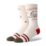 Meia Stance California Republic Creme