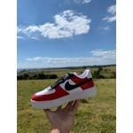 Nike Air Force 1 Jordan Branco e Vermelho
