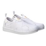 Adidas Superstar Slip Matelasse Branco