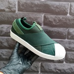 Adidas Superstar Slip On Verde