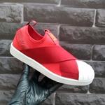 Adidas Superstar Slip On Vermelho