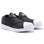 Adidas Superstar Slip On Preto e branco