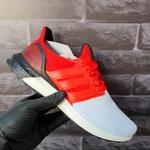 Adidas Ultraboost 4.0 Branco com Vermelho
