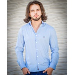 Camisa Social Light Blue Ml