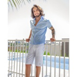 Camisa Social Light Blue Mc