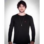 Camiseta De Frio Tsf Basic Black Red
