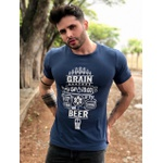 Blusa T-shirt Grain Beer Azul