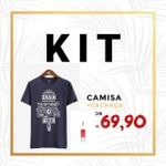 Kit Camisa Grain Beer + Cachaça Prata