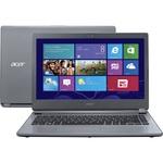 "Notebook Acer E5-473-5896 Intel Core 5 i5 4GB HD 1TB Tela 14"" Windows 10 - Grafite"