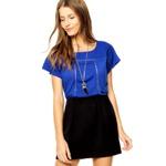Camiseta MNG Barcelona Cappri Azul