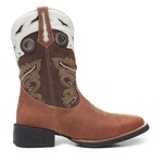 Bota Texana Masculina Denison Mad Dog Whisky Café Gelo