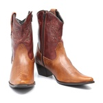 Bota Country Feminina Dallas Fossil Mostarda