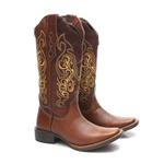 Bota Texana Feminina Marfa Marrom Whisky