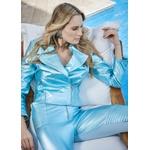 Calça Pelica feminina Metalizado Jade Adele
