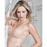 Regata de Couro Feminino Nude Lívia