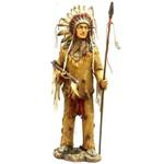 Índio Cacique com Lança Grande