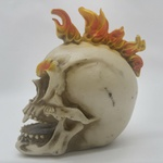 Crânio Moicano de Fogo
