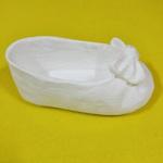 Aplique Sapato Laço Grande Individual de Bebê