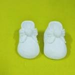 Aplique Botinha De Bebê alta - pacote com 2 peças