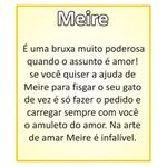 """Meire """"Bruxinha do Amor"""" Preta"""