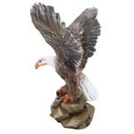 Estatueta de Águia com Asa Aberta
