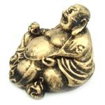 Buda Chinês Mini Dourado