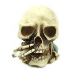 Crânio c/ Cigarro