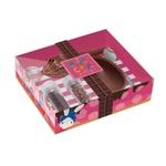 Caixa KIT Confeiteiro Brilho de Páscoa Rosa