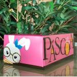 Caixa Para Docinhos Com Tampa De Acetato Rosa