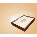 Caixa Para Ovo De Colher Linha Premium Com hot stamping