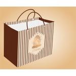 Sacola De Papel Com Hot Stamping Linha Premium