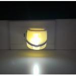 Aromatizador Elétrico Plástico Standard Branco LED