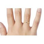 Alianças de casamento e noivado em ouro 18k 750 tradicional e anatômica 1,50 mm