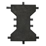 Piso/Tapete de Borracha para Academia 1M² (8 placas)