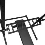Barra H Com 3 Pegadas Ponteira Olímpica