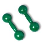 Par De Halteres 6kg Cada Emborrachado Musculação