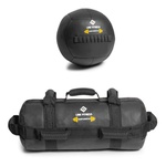 Kit De Wall Ball + Power Bag Crossfit Funcional