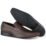 Sapato Social Penny Loafer em Couro Legítimo