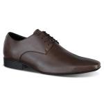 Sapato Social Derby em Couro Legítimo com Cadarço