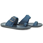 Chinelo masculino Casual (Jeans)