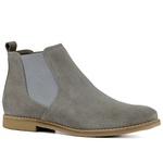 Bota Chelsea Luxury Toda Cinza Escrete Boots