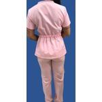 Conjunto Cirurgico Feminino em Microfibra Rosa