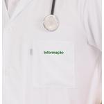 informação bordado verde bandeira