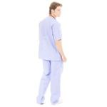Conjunto Cirúrgico em Algodão Hospitalar Azul Bebê