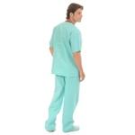 Conjunto Cirúrgico em Algodão Hospitalar Verde