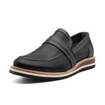Sapato Masculino Mocassim Napa Furadinho Preto