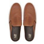 Sapato Masculino Mule Vgt Tresse Amêndoa