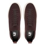 Sapato Masculino Sneaker Assinatura Jef Knit Café