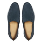 Sapato Masculino Sider Liso Nobuck Marinho